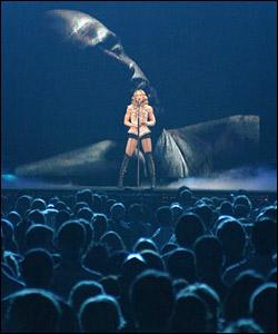 Madonna Singing In Concert