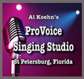 Pro Voice Singing Lessons Studio St Petersburg FL